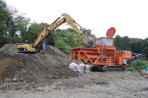 移動式土質改良機1